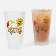 Retired Pint Glass