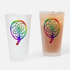 Rainbow Dreamcatcher Pint Glass