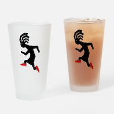 Kokopelli Runner Pint Glass
