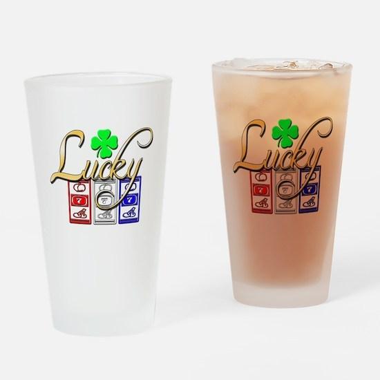 Lucky Winner Drinking Glass