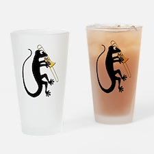 Gecko Trombone Drinking Glass