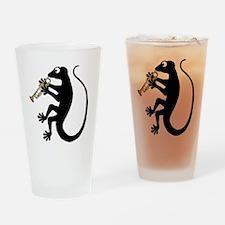 Gecko Trumpet Drinking Glass