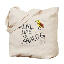 analog music fan_Tote Bag