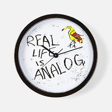 analog music fan_Wall Clock