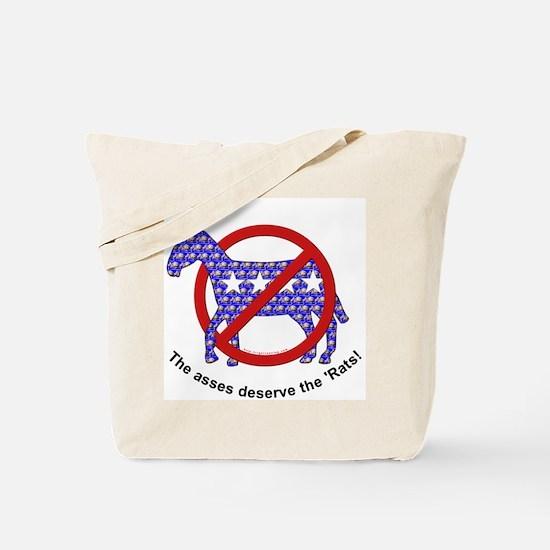Anti-Democrat Tote Bag