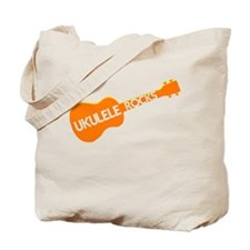 orange ukulele Tote Bag