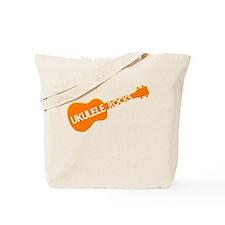 orange ukulele Tote Bag
