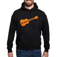 orange ukulele Hoodie