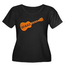 orange ukulele T