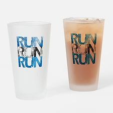 RUN x 3 Pint Glass