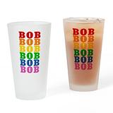 Rainbow name Pint Glasses