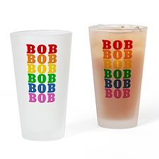 Rainbow Name Pint Glass