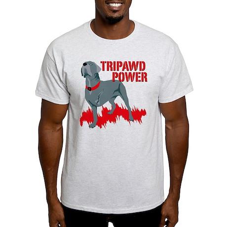 Tripawd Power (Bellona) Light T-Shirt