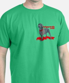 2-sided Tripawd Power Bellona T-Shirt