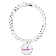 RunnerGirl Charm Bracelet with One Charm