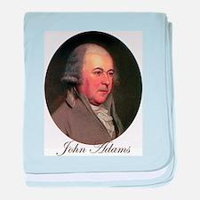 John Adams baby blanket