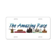 The Amazing Race Aluminum License Plate