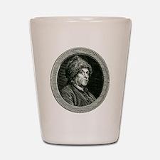 Ben Franklin Shot Glass