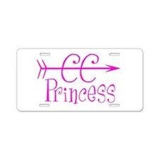 CC Princess Aluminum License Plate