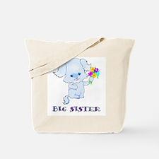 Big Sister Puppy Dog Tote Bag