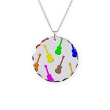 Rainbow Ukuleles Necklace