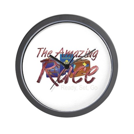 Amazing Race Wall Clock By Limitlesspos