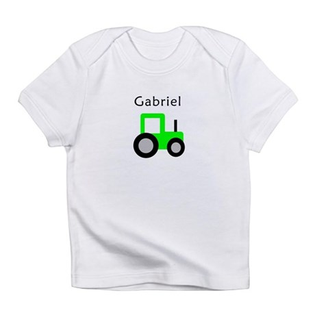 Gabriel - Lime Green Tractor Infant T-Shirt