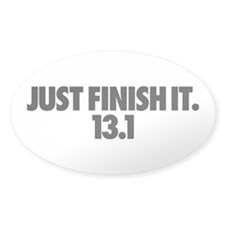 Just Finish It. 13.1 Decal