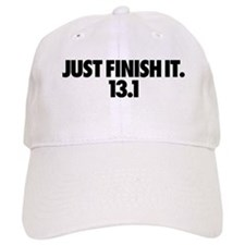 Just Finish It. 13.1 Baseball Baseball Cap