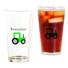 Brendan - Lime Tractor Pint Glass