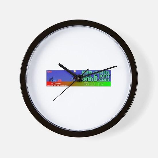 Bells 107 Wall Clock