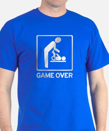 New Dad to be - Game over Dia T-Shirt