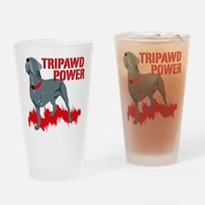 Tripawd Power Bellona Pint Glass