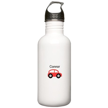 Connor - Red Car Stainless Water Bottle 1.0L
