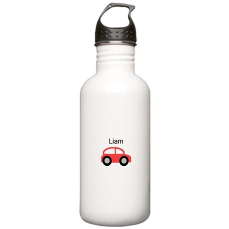 Liam - Red Car Stainless Water Bottle 1.0L
