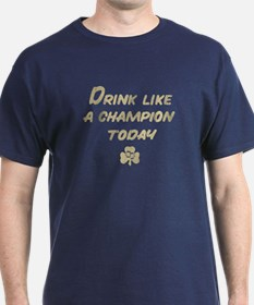 Vintage Irish Drinking T-Shirt