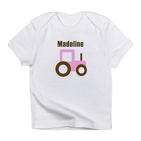 Madeline - Pink Tractor Infant T-Shirt