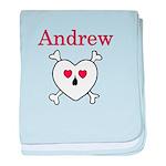 Andrew - Love Pirate baby blanket