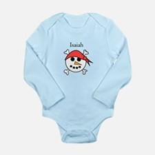 Isaiah - Snow Pirate Long Sleeve Infant Bodysuit