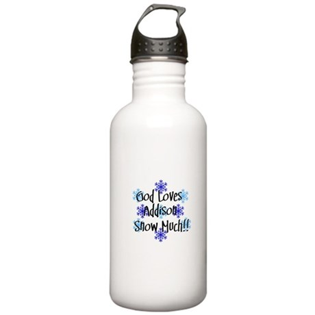 Addison - Snow Much Stainless Water Bottle 1.0L