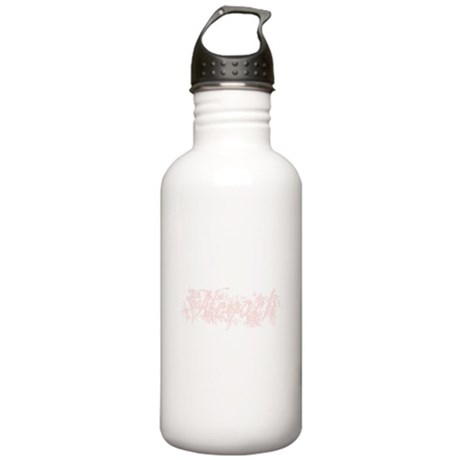 Nevaeh - Pink Flowers Stainless Water Bottle 1.0L