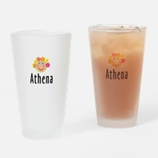 Athena - Flower Girl Pint Glass