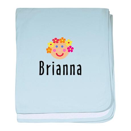 Brianna - Flower Girl baby blanket