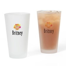 Britney - Flower Girl Pint Glass