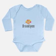 Brooklynn - Flowergirl Long Sleeve Infant Bodysuit