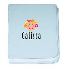 Calista - Flower Girl baby blanket