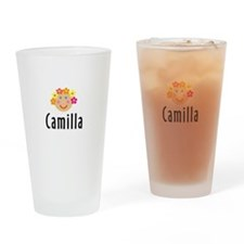 Camilla - Flower Girl Pint Glass