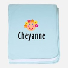 Cheyanne - Flower Girl baby blanket