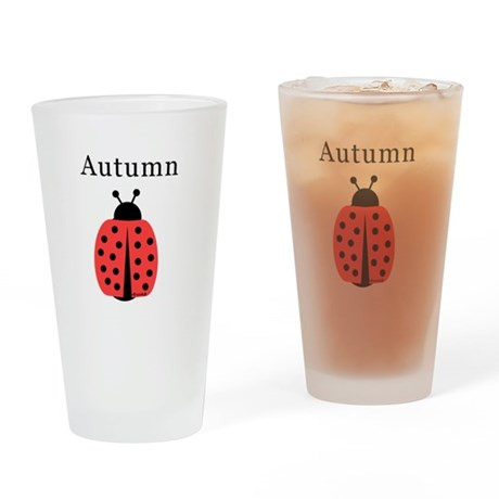Autumn - Ladybug Pint Glass