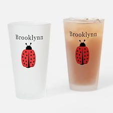 Brooklynn - Ladybug Pint Glass